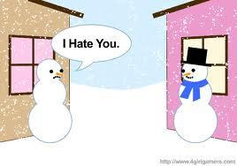 Snowman jealous